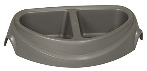 (Petmate Large Double Diner Heavy-Weight Microban Pet Dish 23181)