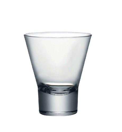 Bormioli Rocco Ypsilon Tumbler Double Old Fashioned Glasses, Set of 6 ()