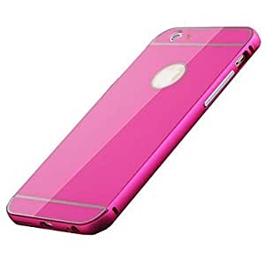 SHOUJIKE iPhone 6 compatible Solid Color Full Body Cases , Silver