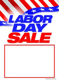 Amazon Com T50lab Labor Day Sale Patriotic Slotted Sale Tags 5