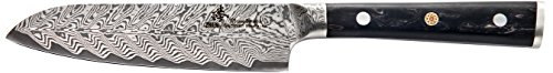 ZHEN Thunder Series 101 Layers German Damascus Steel Small Santoku Knife 5-inch
