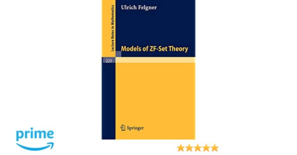 Models Of Zf-Set Theory