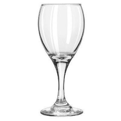 Stemware White Wine (LIB3966 - Teardrop Glass Stemware, White Wine, 6.5oz, 6 1/4quot; Tall)