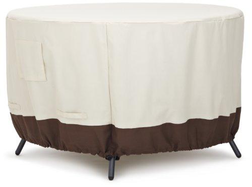 AmazonBasics - Funda protectora para mesa de comedor redonda (120cm)