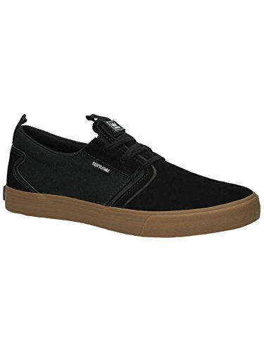 Supra - Mens Flow Skate Shoes Black/Gum for nice cheap online from china cheap price cheap excellent clearance manchester great sale discount release dates Cuxt3y9bH
