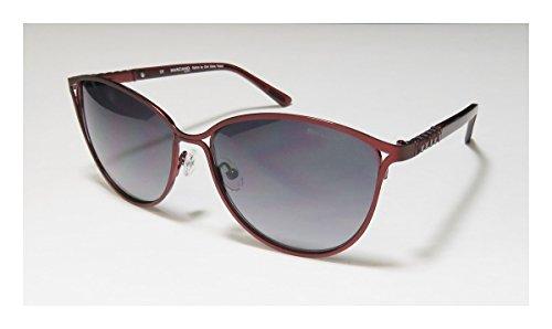 [GUESS by MARCIANO GM 720 BUR-35 Ladies Designer Sunglasses + Case, Cloth + Box] (Mens Sports Costume Ideas)