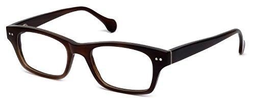s Buffalo Horn Designer Reading Glasses CEBH118 in Brown Horn +1.50 (Buffalo Horn Frames)