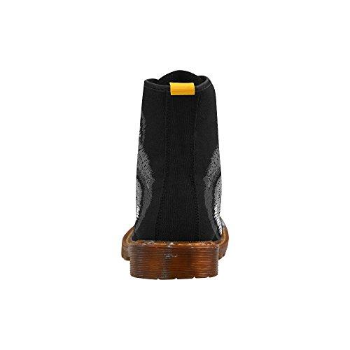 Scarpe Da D-story Moda Stringate Martin Boots Da Uomo Multicoloured15