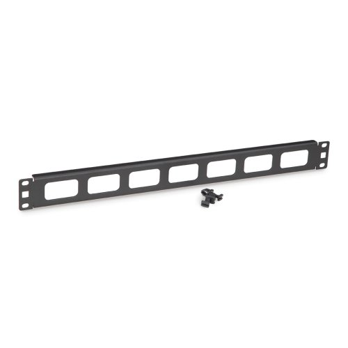 Howard Kendall Cable - Kendall Howard Cable Routing Blank - Rack cable management panel - 1U - 19
