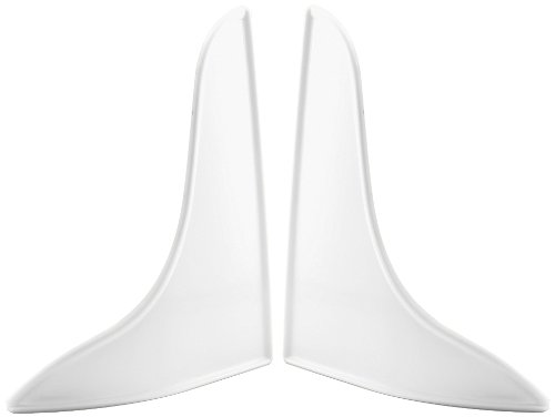Prime-Line M 6086 Bath Tub Splash Guard, 9 in. x 10-3/4 in., Plastic, White ()