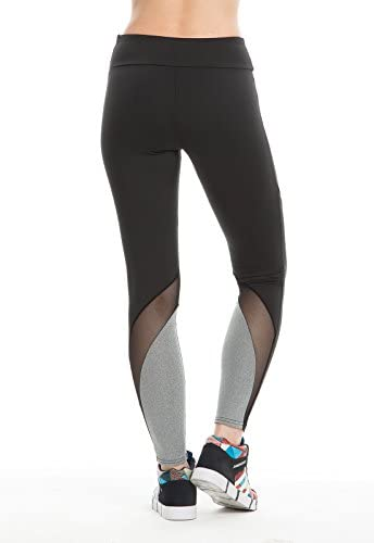 d337fe34e83cf5 Gate2Light Women Leggings Sexy Tights Pants Casual Activewear Mesh Push Up  Transparent Stretchy Workout Yoga Fitness