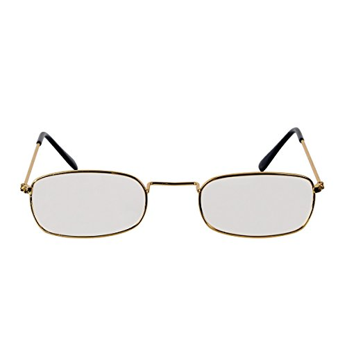 Pack of 6 Gold Santa Claus Fanci-Frame Eyeglass