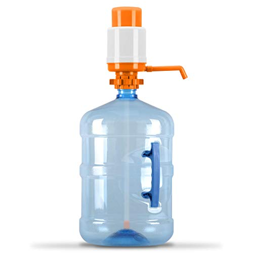 Brio Universal Manual Drinking Water Pump (Orange)