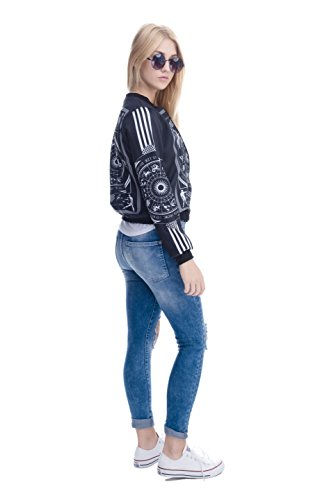 Mujer Bomber Occultism Para Fringoo Jacket Chaqueta 0YInqS