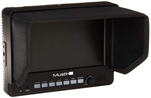 MustHD M700H 7-Inch IPS On-Camer...
