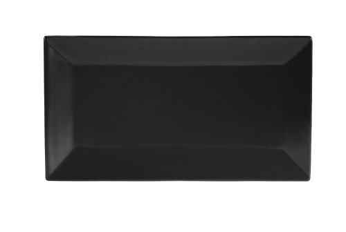 CAC China KC-13-BLK Color Arts 11-1/2-Inch by 6-1/4-Inch Sto
