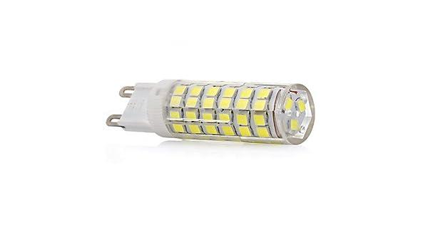 7W Bombilla LED E14 / G9 T 75 SMD 2835 400-450 lm Blanco Cálido ...