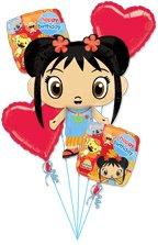 Ni Hao Kai-lan Happy Birthday Bouquet Party Supplies Decorations Balloons