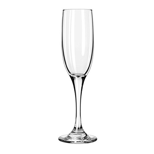 Libbey Glassware 3796 Embassy Royale Tall Flute, 6 oz. (Pack of 12) (Case Glassware Embassy)