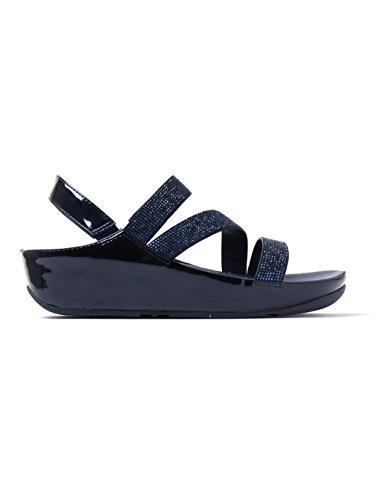 FitFlop CRYSTALL Z-STRAP - Sandalia de mujer Azul talla 39