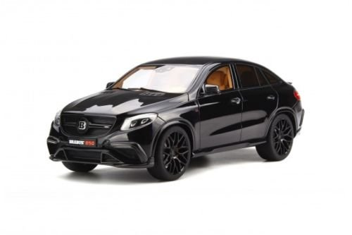Mercedes Brabus GLE 850 Black Limited Edition to 500 pieces Worldwide 1/18 Model Car by GT Spirit - Gle Model