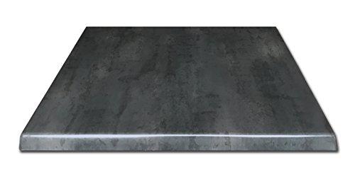 Holland Bar Stool Co. OD30SBlkStl Indoor/Outdoor Table Top, Black Steel ()