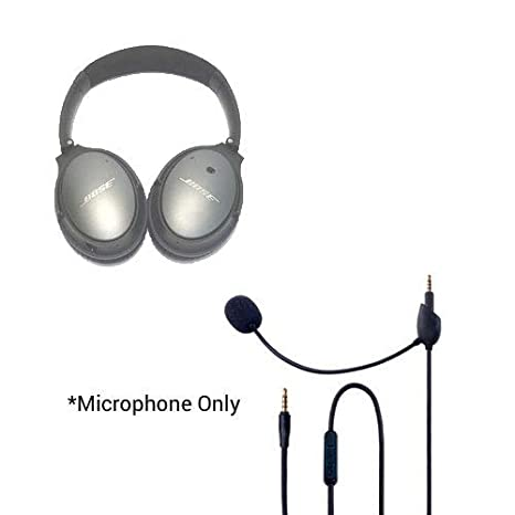 4dc729882da Amazon.com: Headset Buddy ClearMic 2 for Bose QC25 - Noise Cancelling Boom  Microphone for The QuietComfort 25 Headphones (CM2502): Home Audio & Theater