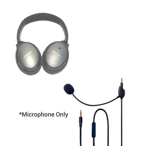 Headset Buddy ClearMic for Bose QC25 - Noise Cancelling Boom Microphone for the QuietComfort 25 headphones (CM2502)