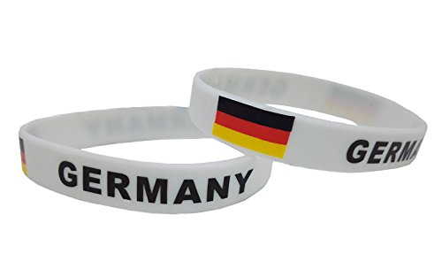 (Forest Country Flag Unisex Silicone Bracelet Rubber Sports Fashion Wristband(Germany,one Size))