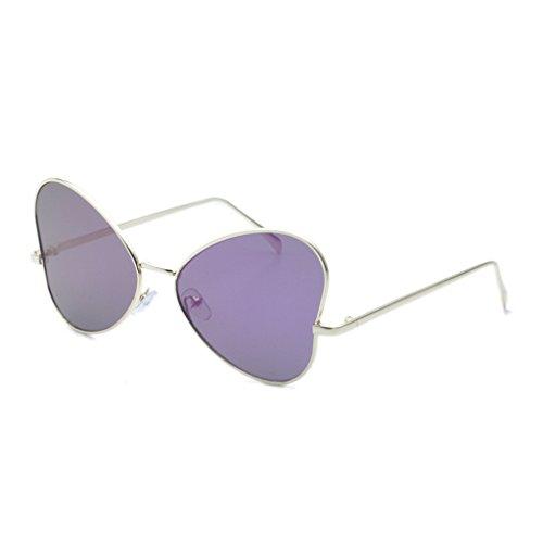 4 amp;lunettes amp; Soleil Personnalité 2 De Rond Vintage Lady couleur Randonneur Lunettes Protection PZrdZwpAq