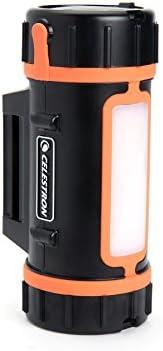 Celestron PowerTank batería Externa Negro, Naranja Fosfato de Hierro-Litio (LiFePo4) - Baterías externas (Negro, Naranja, Un