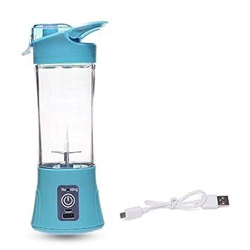 ouying1418 Botella USB Recargable Exprimidor Máquina de Hogares de Viaje de Mano Juicer de la Fruta: Amazon.es: Hogar