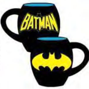 Batman Logo 18 oz. Ceramic Oval Mug