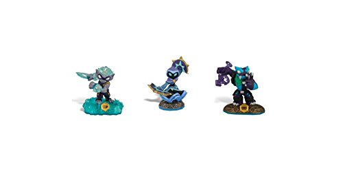 Skylanders Swap Force Action Figures Freeze Blade, Star Strike, and Trap Shadow (Skylander Action Figures)