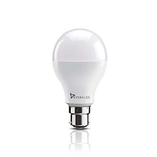 Syska SSK-SRL-18W Base B22 18-Watt LED Bulb (Cool Day Light)