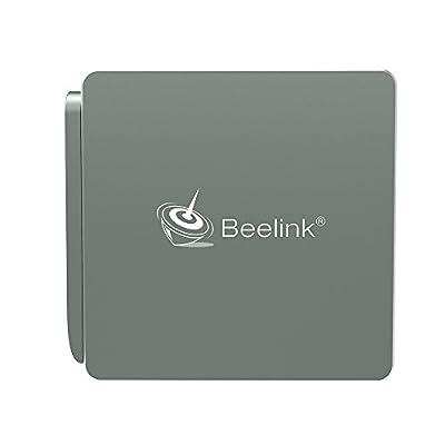 Mini pc, BeelinkAP34, Intel Apollo Lake N3450(2M Cache, up to 2.2 GHz), Intel HD Graphics 500, 4GB/64GB, ,1000Mbps LAN/ 2.4G+5.8G WiFi/ BT 4.0, Windows 10 Mini PC, Mini computer