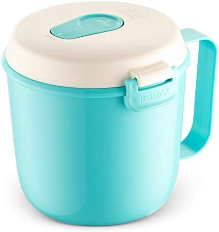 Amazon.com: Komax - Taza de sopa microondas, con orificio ...