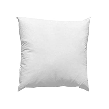 amazon com famous maker 18in x 18in feather down pillow form white