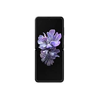 Samsung Galaxy Z Flip SM-F700F/DS Dual-SIM 256GB (GSM Only | No CDMA) Factory Unlocked Android 4G/LTE Smartphone - International Version (Mirror Black)