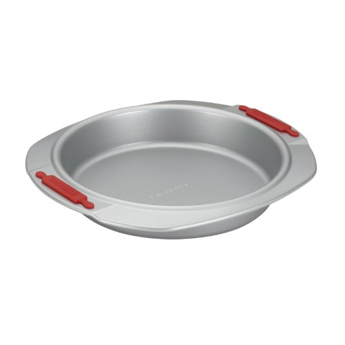 Cake Boss Deluxe Nonstick Bakeware 9-Inch Round Cake Pan, Gr