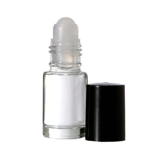 5 ml. Glass Roll on Bottle. Perfect for Essential Oils Aromatherapy, Perfume and Cologne. Plastic Roller. Pipettes Included (144 Bottles, Clear)