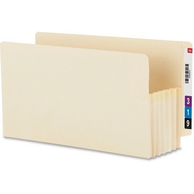 End Tab Tuff Pockets (10 Pack) Size: 5.25 Expansion by Smead