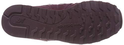 New Basso Donna eggplant 373 Rosso Pbv Sneaker white Collo A Balance HXHqfrp