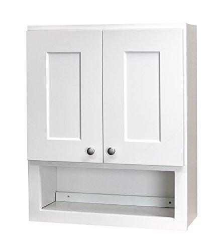 Shaker Style Cabinets Bathroom - White Shaker Bathroom Wall Cabinet 21