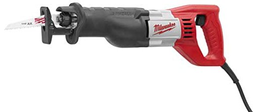Corded Electric Reciprocating Saw (Milwaukee Electric Tool 6519-31 - Sawzall Corded Reciprocating Saw - 12 A, 1-1/8 in Stroke Length, 3000 spm Maximum Speed)