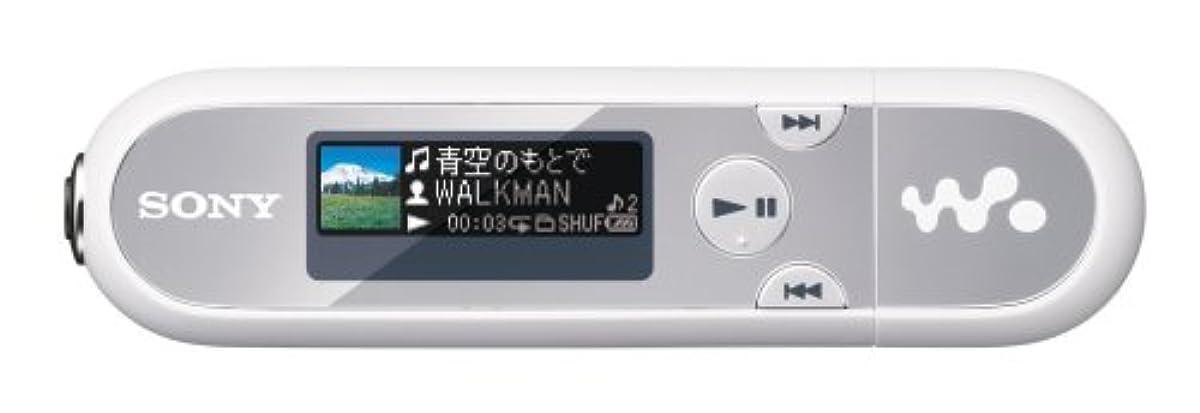 [해외] SONY 워크맨 E실리즈 FM부 메모리 퍼터입 2GB 실버/화이트 NW-E042/SW