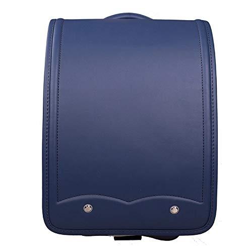 子供のバックパック - 無地のかわいい子供のバックパック、無圧力保護者の後部システム、男の子と女の子の使用に適したPU素材の子供のランドセル、1-5年  Blue B07QJWNZ4V