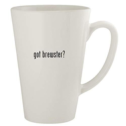 got brewster? - Ceramic 17oz Latte Coffee Mug