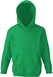 Fruit of the Loom Childrens Unisex Hooded Sweatshirt/Hoodie
