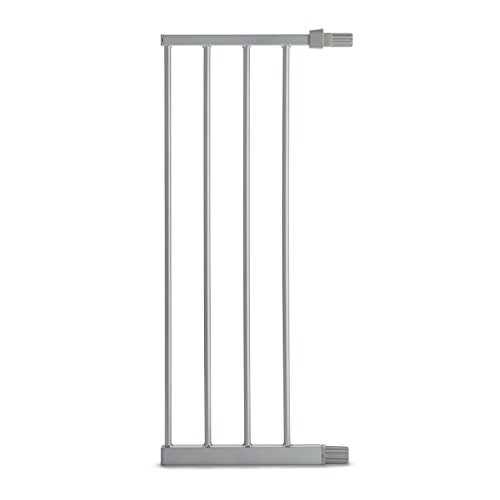 Munchkin Easy Close Metal Baby Gate Extension, Compatible with Gate Model MK0002-022 in Silver, 11 Inch
